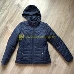 Куртка темно-синяя для девочки