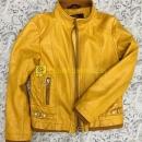 Куртка кожаная для девочки