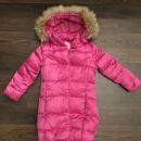 Куртка-пальто зимняя утепленная р.122