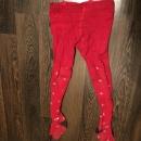 Колготки красные 116 см