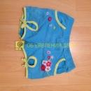 Шорты голубые для девочки 98 см