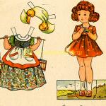 Бумажные куклы (для детей от трех лет)